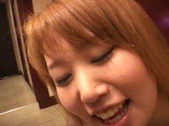 Jolie secrétaire japonaise
